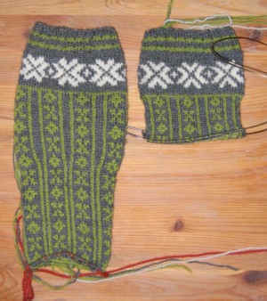 norwegian stockings gauge experiment