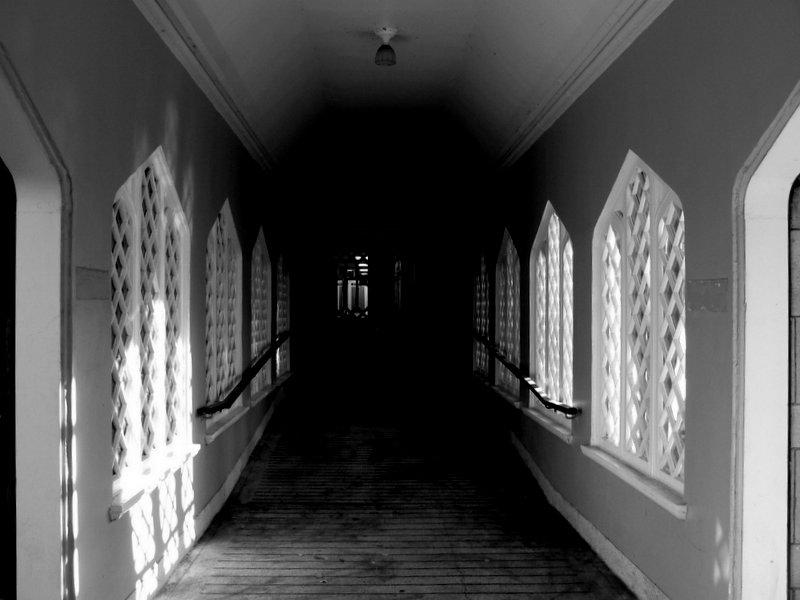 Darkened Corridor