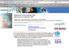 Habitat Jam - Only Microsoft IE 6 is welcome