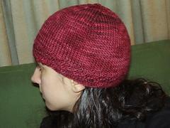 Malabrigo hat for my sister