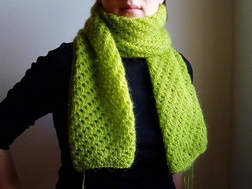 Suvi's scarf