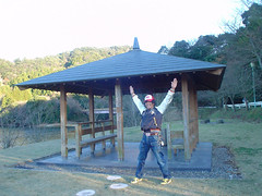 ヤバい場所での記念撮影