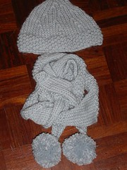 Polar hat and scarf