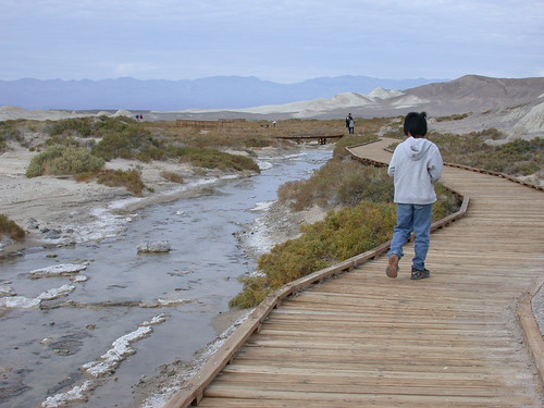 Salt creek Interpretive Trail@Death Valley