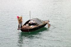 Fishing in Halong Bay