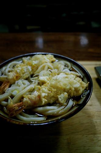 tempura udon (saitama style)