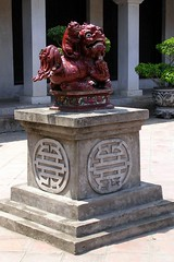 Statue at Temple of Literature