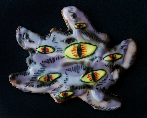Cthulhu Christmas Cookies - shoggoth