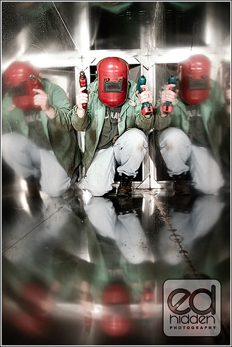 Attack of the welder - Ed Hidden