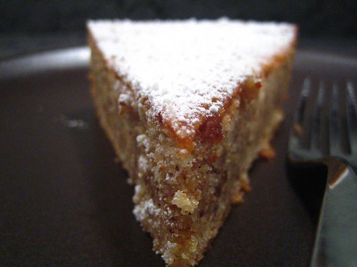 Hazelnut brown butter cake