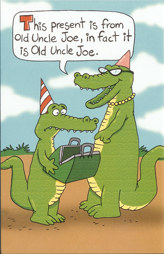 Happy Birthday from Uncle Joe