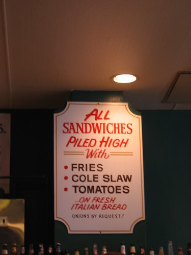 all sandwiches served