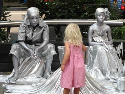 Girl With Silver Students