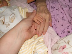 Holding Hands Across Three Generations