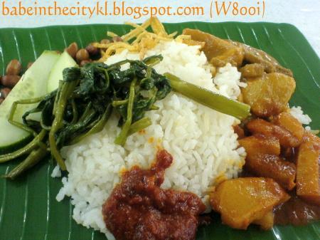 blueboy vegetarian nasi lemak
