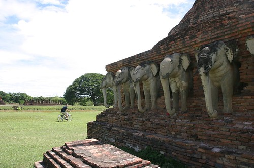 Budda and Temples  in Sukhothai 04