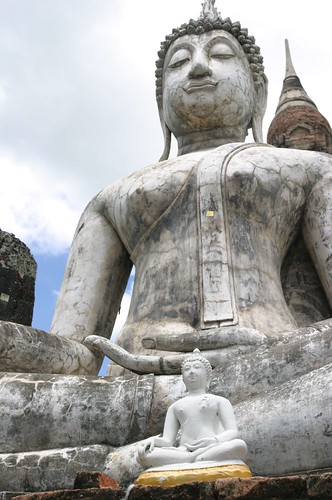 Budda and Temples  in Sukhothai 10