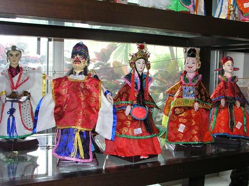 布袋戲玩偶@劍湖山世界紀念品店