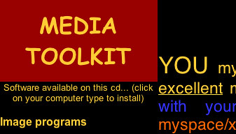 DIY Digital Media Toolkit Screenshot