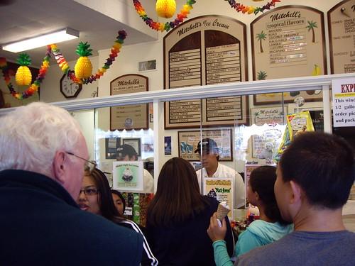 mitchell's, buying ice cream cake