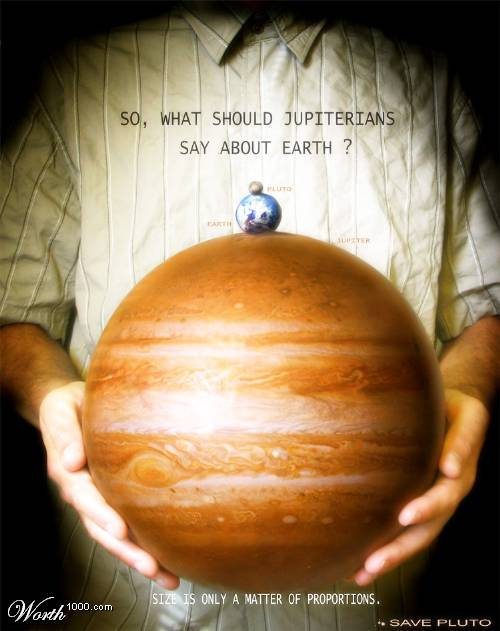 Jupiter vs Earth