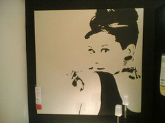 Audrey Hepburn (IKEA, Dortmund)