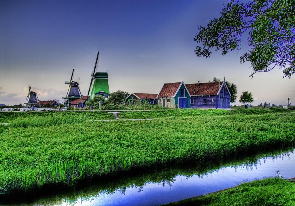 Evening Falls in Holland