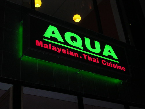 Philafoodie aqua for Aqua malaysian thai cuisine