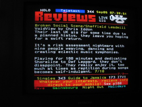BSS teletext review