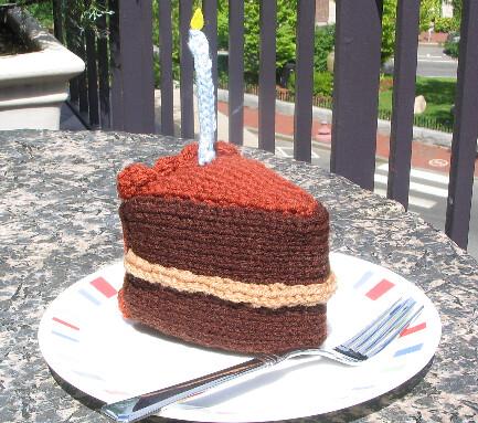Let Them Knit Cake   BitterSweet