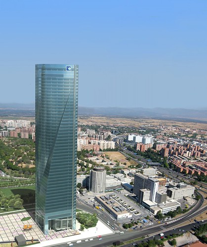 Cuatro Torres Business Area Render