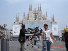 Milan Cathedral di Piazza del Duomo, Milan, Italy