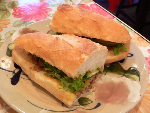 Sandwich in Vietnam-style