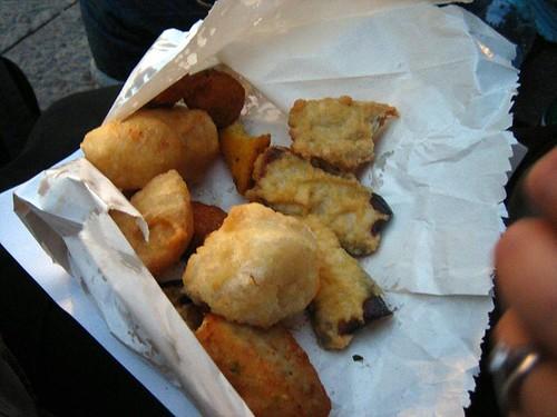 Our bag o'fried