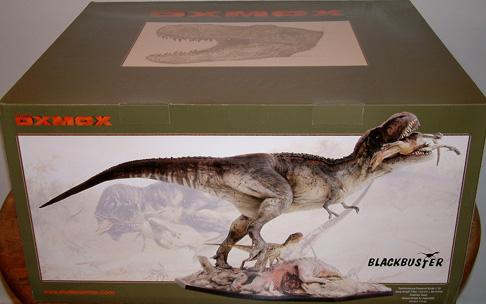 澳洲模型公司所出的霸王龍雕像Studio Oxmox T-Rex Diorama Review