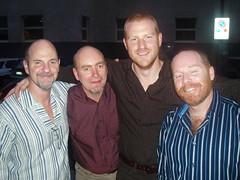 David, Paul, Tony & Nick
