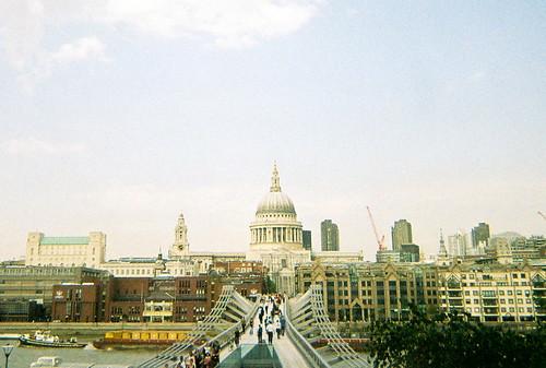 Millenium Bridge from Tate, 3