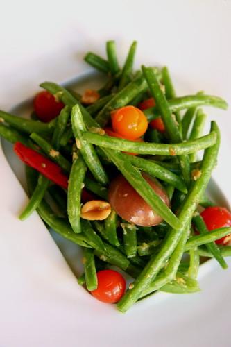 Green Bean Salad, Somtum style