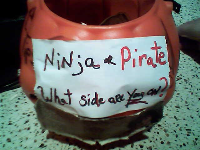 Ninja or Pirate