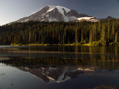Mount Rainier and Reflection