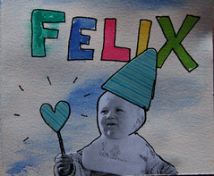 Birthday card for Felix