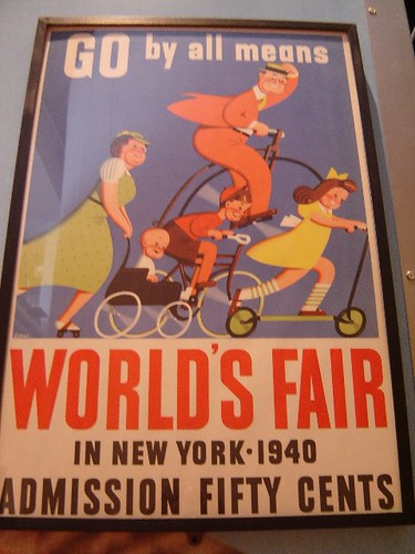Poster from the '40 Fair.