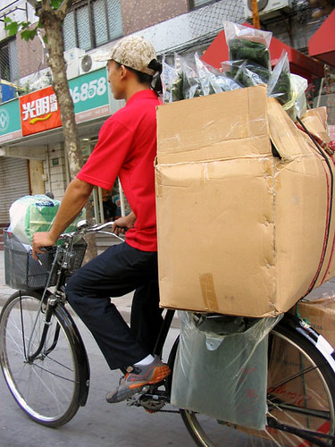 Box on Bike