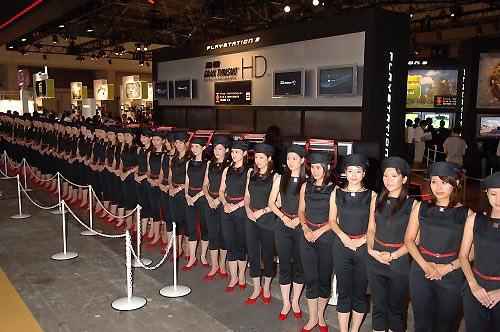 Las chicas del Tokyo Game Show class=