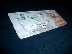 Aeroflot Boarding Pass