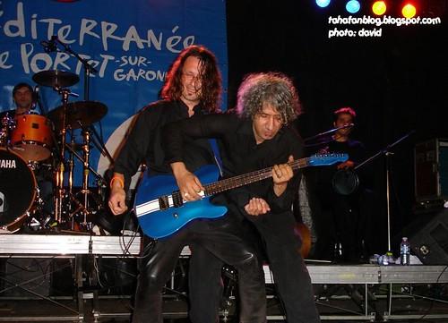 Rachid Taha in Portet sur Garonne, Sept.24, 2006, 16, Noel Delfin and Hakim Hamadouche
