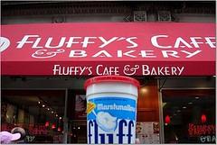 Fluff at Fluffy's