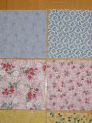 Fabric squares (3)