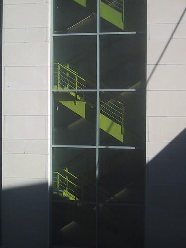 MIT Stairwell, Biology Building
