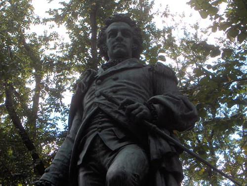 John Glover Statue